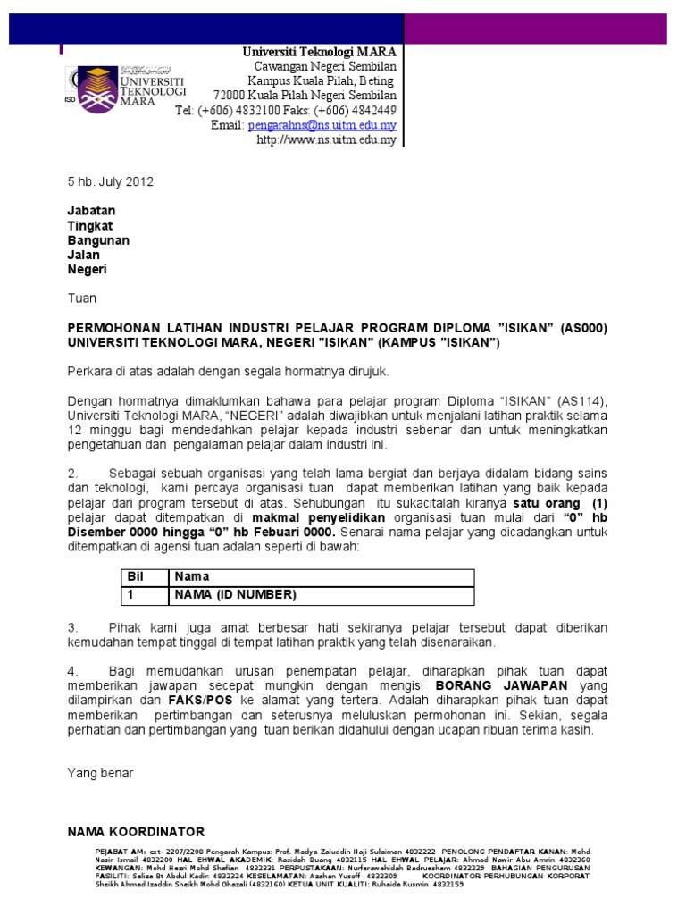 1464803753 - Contoh Surat Rasmi Bantuan Kewangan Pendidikan