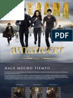 Crepúsculo La Saga Amanecer Parte 2 - Especial Revista Cinerama