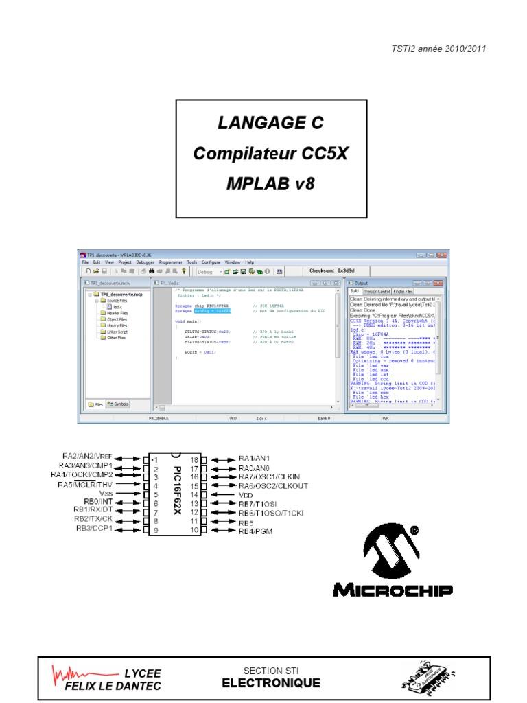 cc5x mplab