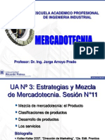 MK- SESION No. 11 Mezcla de MK El Producto