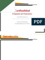 Cardinalidad de Conjuntos de Funciones