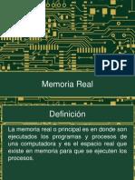 Memoria Real