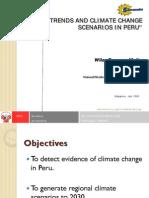3-02)CLIMATE CHANGE Trends and Scenarios in PERU (Wilar Gamarra Molina SENAMHI)[1]