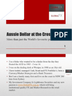 Aussie Dollar at the Crossroads