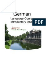 German Course Introduction