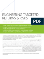 Pmpt Engineering Targeted Returns and Risks
