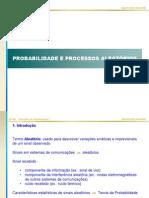 [Apostila] Probabilidade e Processos Aleatórios - Unicamp