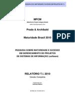 Pesquisa Maturidade 2010 Relatorio TI Completo V3