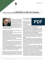 DISCURSO de MUJICA en Río de Janeiro