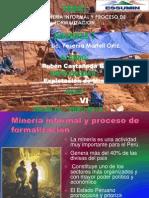 Mineria Informal y Proceso de Formalizacion II