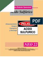 Almacenamiento,Carguio, Transporte y Descarga de Acido Sulfurico
