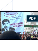 Protestos Chile Filme Mal Educados