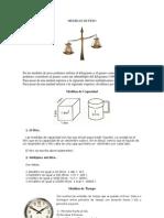 Medidas de Peso y Gentilicios