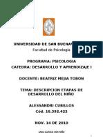 Caso Clinico Desarrollo USB