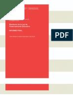 IM, Monitoreo de La Ley de Financiamiento Educativo, Bezem, Rivas, Mezzadra, 2012