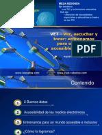 PRESENTACIÓN DE LA MESA REDONDA EDUTIC-2012 denominada