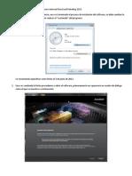 Procedimiento de Instalación del software Autocad Structural Detailing 2013