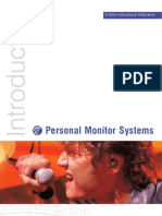 Introduction to Personal Monitor Systems