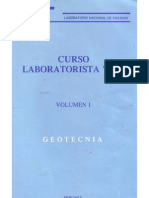 Curso Laboratorista Vial Volumen I Geotecnia