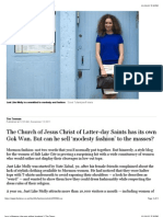 Less is Mormon_ the man selling 'modesty' | The Times