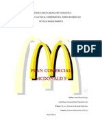 Plan Comercial Mc Donalds