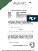 Supremo Tribunal Federal Re 550170 Agr