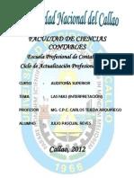 Trabajo de Auditoria Superior Propedeutico 2012c