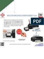 Multifuncional Epson Inkjet l200