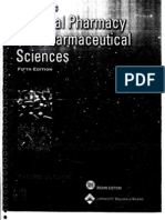 Martin's Physical Pharmacy and Pharmaceutical Science 5th Ed.