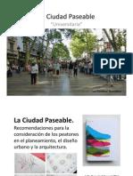 Ciudad Paseable