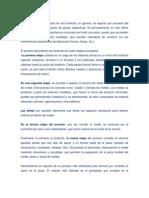 Etapas Del Proceso de Fundicion