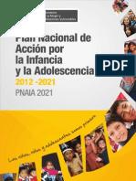 PLAN NACIONAL DE ACCION POR LA INFANCIA Y LA ADOLESCENCIA 2012-2021