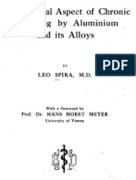 The Clinical Aspect of Chronic Poisoning by Aluminium and its Alloys, by Leo Spira MD (1933)