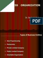 BO - Forms of Organization