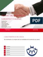 Sistema obligatorio de garantía y calidad