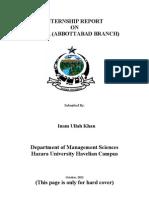 Final Report 15.11.2012 Inam Havalian Campus