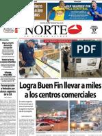 Periodico Norte de Ciudad Juárez 17 de Noviembre de 2012