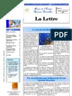 La lettre trimestrielle / Octobre - Décembre 2005