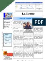 La lettre trimestrielle / Juillet - Septembre 2006
