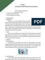 14.KK.9 Melakukan Pekerjaan Dengan Mesin Bubut # Materi 1 Bagian Utama