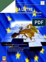 La lettre trimestrielle / Janvier - Mars 2008