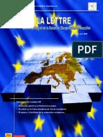 La lettre trimestrielle / Avril - Juin 2008