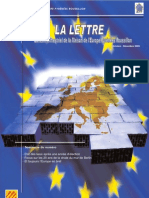 La lettre trimestrielle / Octobre - Décembre 2009