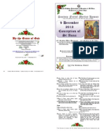 Matins Hymns Tone 2 - 9 December 2012, 27AP - 10 Luke - Conception of St Anna