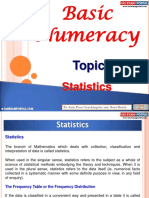 Basic Numeracy Statistics