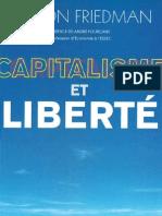 Milton Friedman Capitalisme Et Liberte