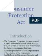 Consumer Protection Act Ghelot