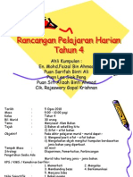 Rancangan Pelajaran Harian