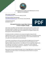 MAC RNAV Press Statement and Letter