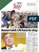 Manila Standard Today -- Sunday (November 18, 2012) issue
